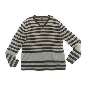 Banana Republic Long Sleeve V Neck Sweater